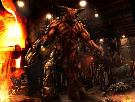 Cyberdemon #2  Doom By Agentdc7 On Deviantart