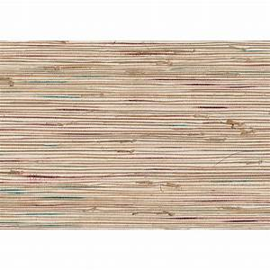 Chesapeake 8 in. x 10 in. Agave Teal Grasscloth Wallpaper ...