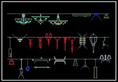 cad drawings free lighting symbols cad