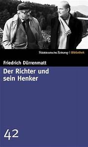 Der Richter und sein Henker by Friedrich Dürrenmatt — Reviews, Discussion, Bookclubs, Lists