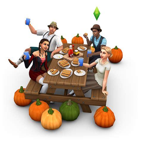 sims  spooky stuff oktoberfest render