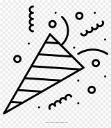Confetti Celebration Coloring Elements Transparent Pngfind sketch template