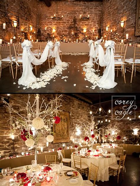 winter wedding   biltmores champagne cellar