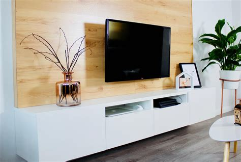 Tv Wand Holz by Selfmade Interior Diy Tv Wand Aus Holz Bauen