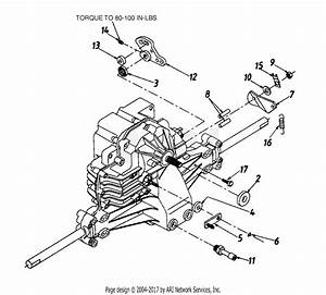 Mtd 13bk695h352  1998  Parts Diagram For Transmission Complete