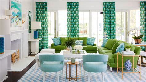 our favorite green rooms coastal living