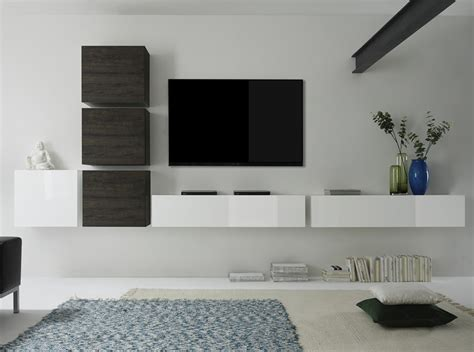 Cube 7 Modern Wall Unit By Lc Mobili Italy