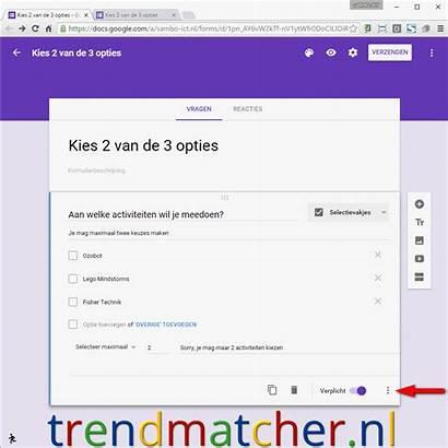 Google Forms Vraag Trendmatcher Een Tussen Onderwijs