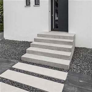 Hauseingang Treppe Modern : betoline blockstufe stufen und treppen f r garten und terrasse treppenelemente blockstufen ~ Yasmunasinghe.com Haus und Dekorationen