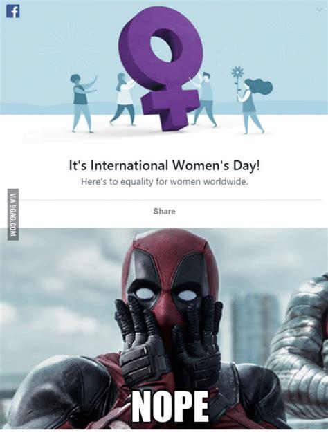 Womans Day Meme - 25 best memes about deadpool international womens day deadpool international womens day memes