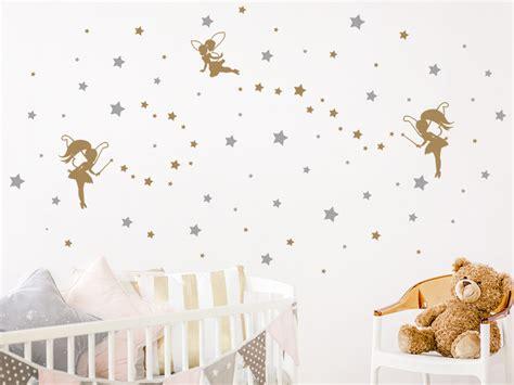 Wandtattoo Kinderzimmer Sternenhimmel by Wandtattoo Sternenhimmel Mit Feen Wandtattoo De