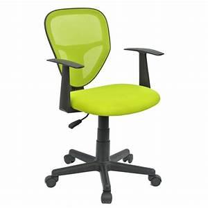 Chaise De Bureau Pour Enfant STUDIO Vert Mobil Meubles