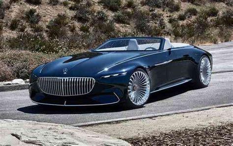 Mercedesbenz Vision Maybach 6 Cabriolet Concept 2020
