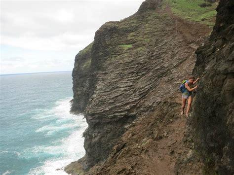 Hiking The Na Pali Coast Trail Picture Of Kalalau Trail