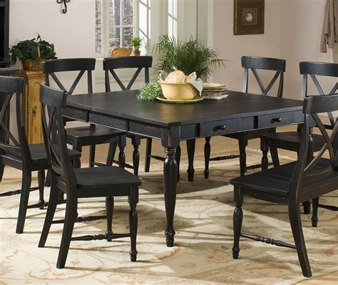 black distressed dining table dining room excellent image of dining room decoration