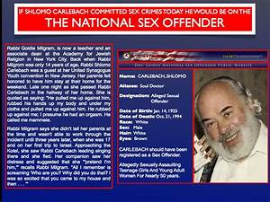 sex offender records search