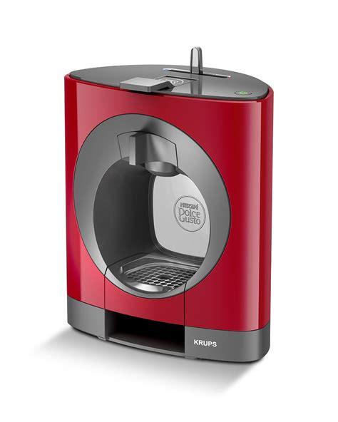 nescafe dolce gusto oblo coffee capsule machine red
