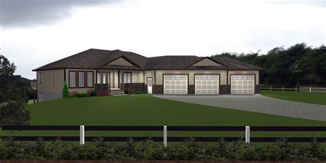 one house plans with walkout basement walkout basements plans by edesignsplansca 1 bungalow