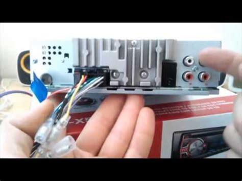 Wiring Diagram Pioneer Deh 65bt by Pioneer Deh X5500bt Usb Blutooth Mixtrax