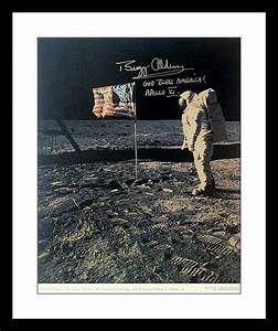 auction.aacsautographs.com: Buzz Aldrin Autographed Apollo ...