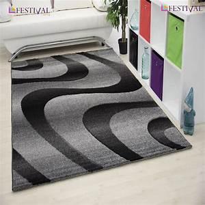 tapis a courtes meches pour salon gris eden With tapis de couloir avec canapé bubble pas cher