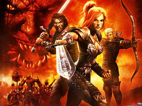 the siege 2 gamers gallery dungeon siege ii exclusive wallpaper