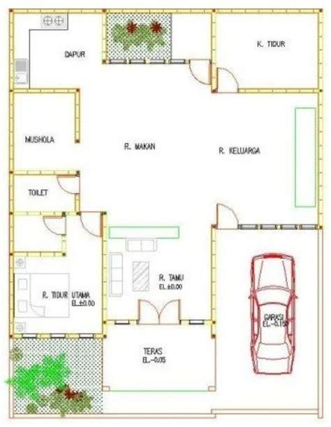 desain rumah minimalis  musholla saintif