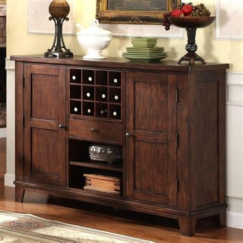 castlewood dining server style buffet  wine storage