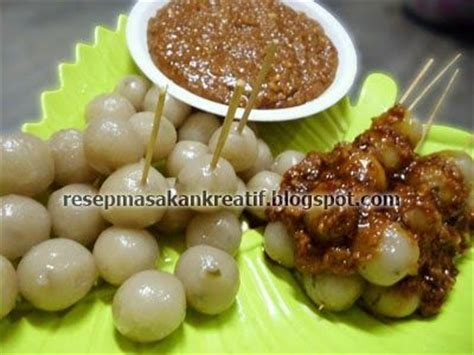 resep cilok bandung kenyal empuk resep masakan indonesia