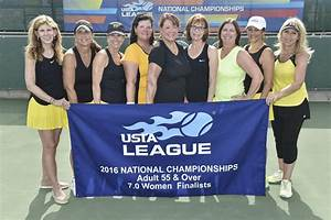 Womens tennis team finishes second at Adult 55 and over ...