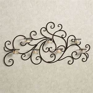 Wrought iron wall decor good decorating ideas for Iron wall decor