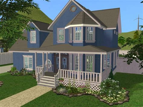 mod  sims  bedroom traditional style family home