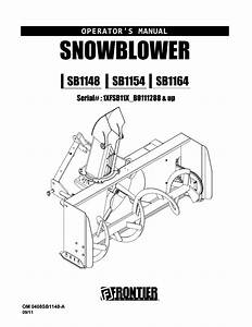John Deere 44 Snowblower Manual By Razvan Alexa