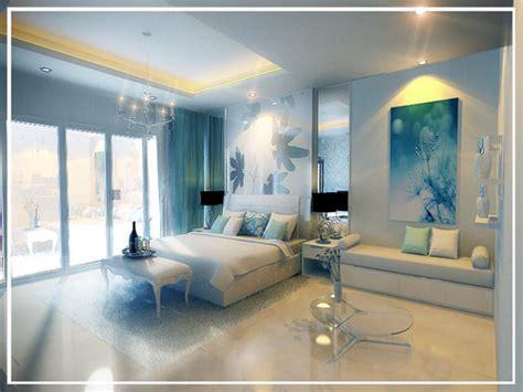 chambre bleu blanc chambre en bleu et blanc