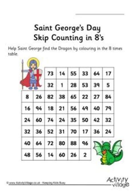 st georges day word search puzzles