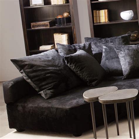 Corner Sofa Contemporary by High End Contemporary Velvet Corner Sofa