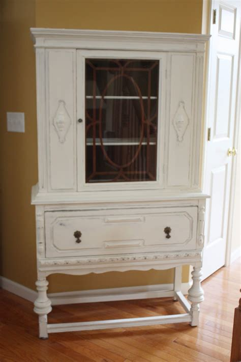 gorgeous vintage china cabinet