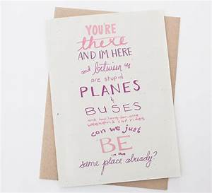 Long Distance Relationship - Planes & Buses - Long ...