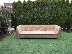 Bauanleitung Lounge Sofa : gartenmoebel holz selber bauen ~ Michelbontemps.com Haus und Dekorationen