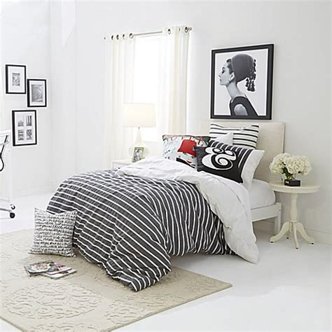 Kate Spade Coverlet by Classic Graphic Kate Spade New York Harbour Stripe Bed