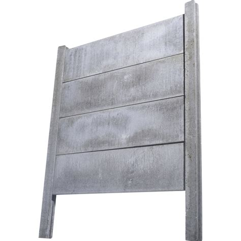 poteau cloture beton poteau pour cl 244 ture droit en b 233 ton pleine l 260 x h 260