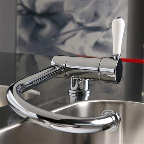 robinet cuisine solde robinetterie rétro mitigeur d 39 évier rabattable à bec