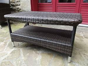Table Basse Resine : salon de jardin en r sine brin d 39 ouest ~ Teatrodelosmanantiales.com Idées de Décoration