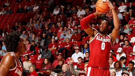 Alabama Men's Basketball Hosts UAH in Exhibition Contest ...