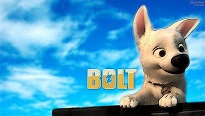Bolt Dog Cartoon Desktop Disney Wallpapers Hi