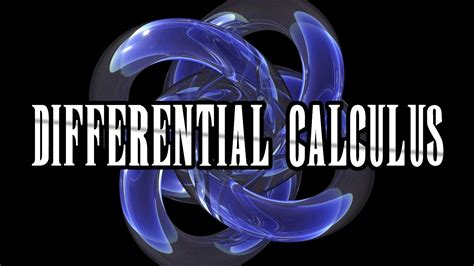 calculus  differential calculus math fortress