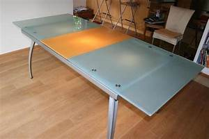 Esstisch Metallgestell Holzplatte : esstisch glasplatte neu und gebraucht kaufen bei ~ Markanthonyermac.com Haus und Dekorationen