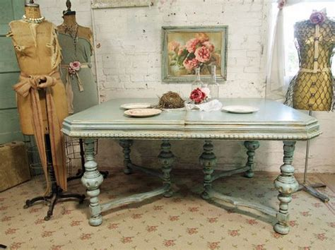 how to paint a shabby chic dining room table tables shabby and painted cottage on pinterest