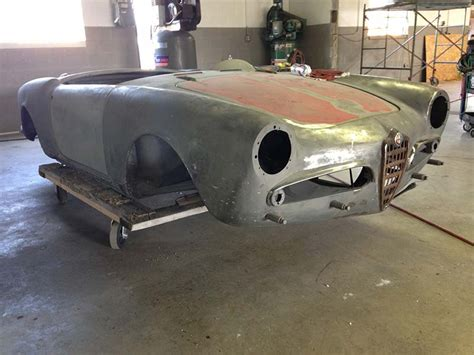 Alfa Romeo Restoration by 1958 Alfa Romeo Spider Veloce Pcc Alfa Romeo Restoration