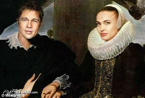 faux antique celebs photoshopping french classic